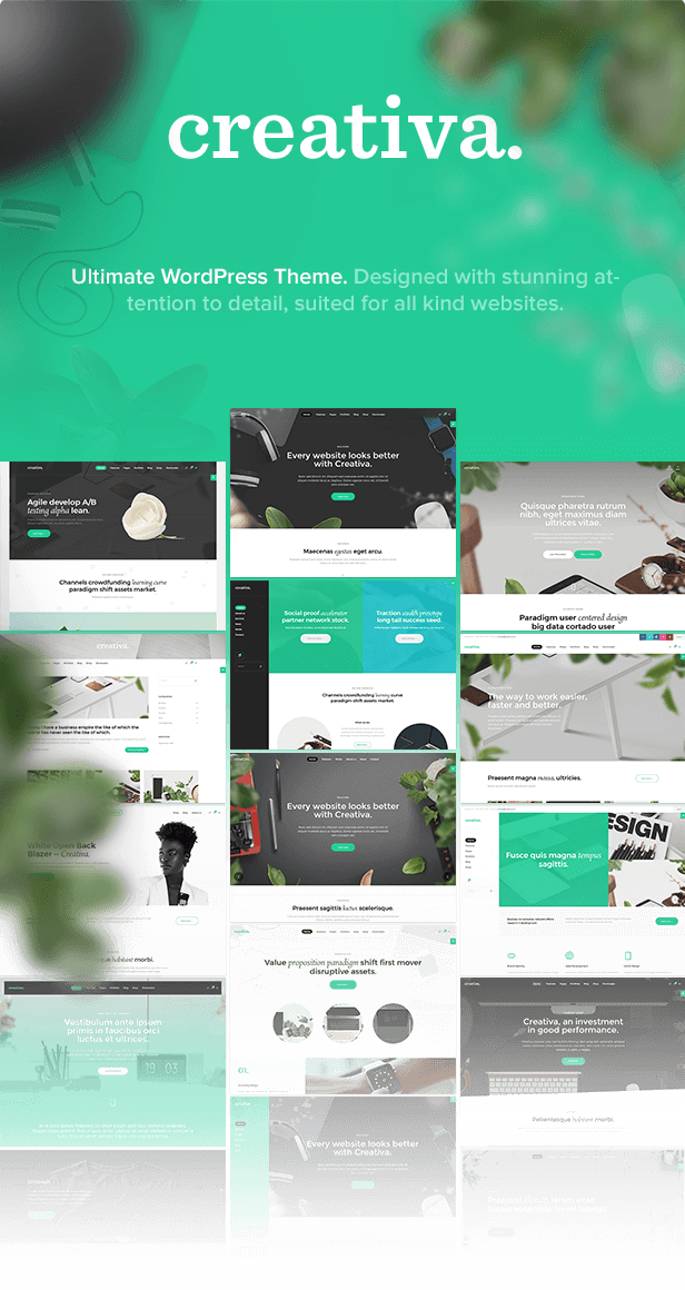 Creativa – Ultimate Multi-Purpose WordPress Theme (Corporate)